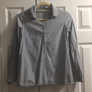 Smock Style Shirt -Muji